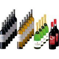 Extra Dinner Wine Selection Pack 18 bottles of 750ml each