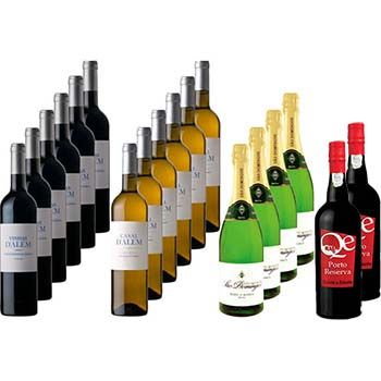 Extra Dinner Wine Selection Pack 18 bottles of 750ml each