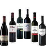 Excellent Value Red Wine Tasting Selection Pack 6 bottles of 750ml each