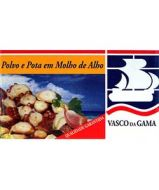 Fish Tin Octopus and Pota with Garlic & Olive Oil Vasco Gama 120g