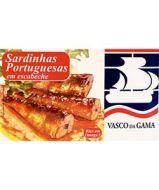 Fish Tin Sardines Escabeche Vasco Gama 120g