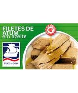 Fish Tin Tuna Fillets in Olive Oil Vasco Gama 120g