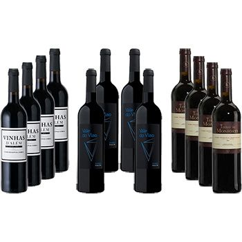 LDA Lisbon Douro Alentejo Wine Selection Pack 12 bottles