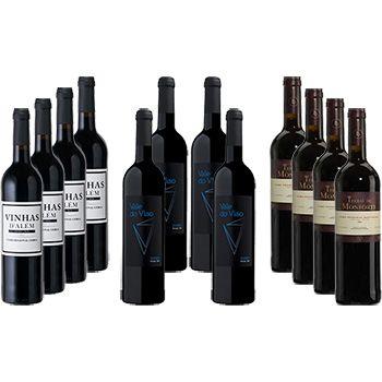 LDA Lisbon Douro Alentejo Wine Selection Pack 12 bottles