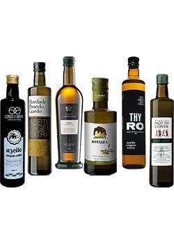 Olive Oil Tasting Selection Pack 6 bottles