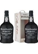Presidential Colheita (Single Harvest) Port Wine Selection Pack 2 bottles of 750ml each with Wood Case