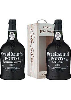 Presidential Colheita (Single Harvest) Port Wine Selection Pack 2 bottles of 750ml each