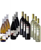 Regional North and South Wine Selection Pack 12 bottles of 750ml each