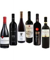 Top Red Wines Selection Pack 6 bottles of 750ml each