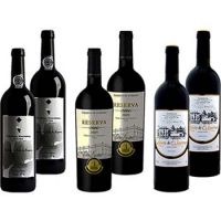Top Wines & Areas Wine Selection Pack 6 bottles of 750ml each