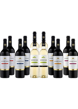 Ameias Wine Selection Pack 12 Bottles Napoleao Wine