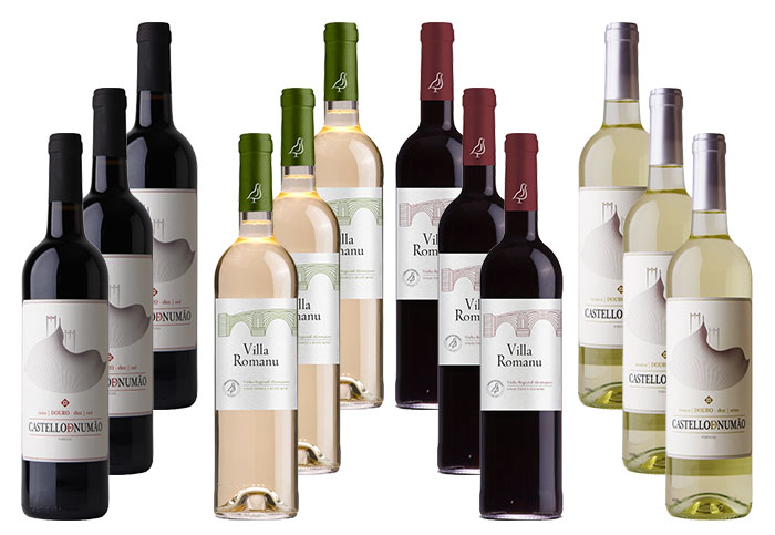 Douro - Alentejo Wine Selection Pack 12 bottles of 750ml (each)