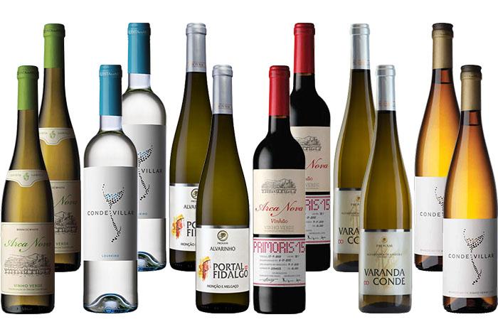 Vinho Verde Wine Selection Pack 12 bts